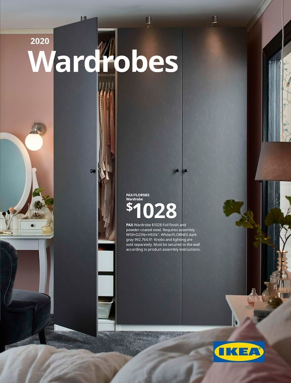Link to the 2020 IKEA Wardrobes Brochure