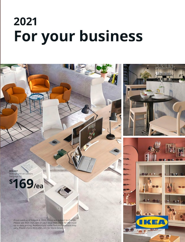 Link to the 2021 IKEA for Business Brochure