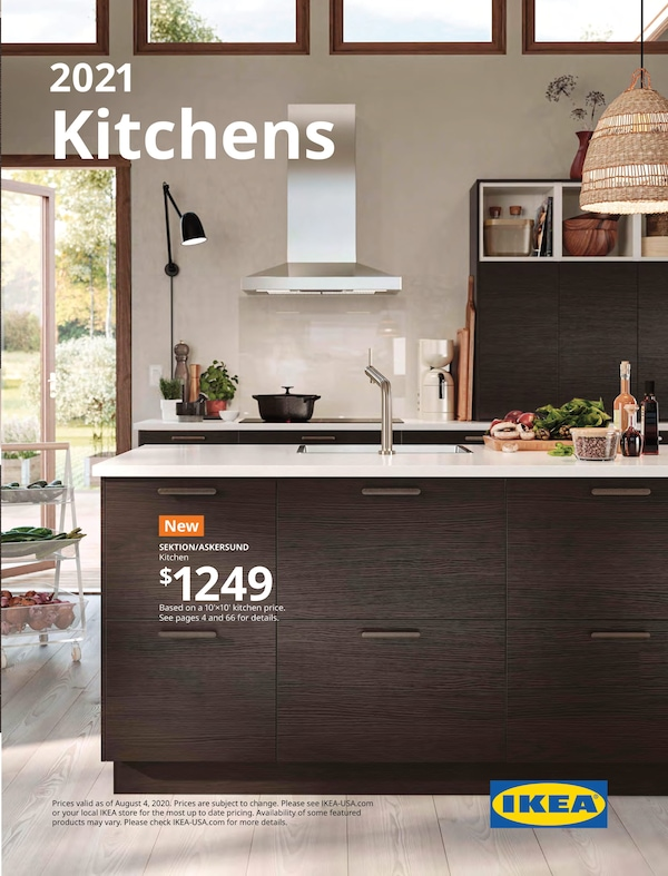Link to the 2021 IKEA Kitchens Brochure