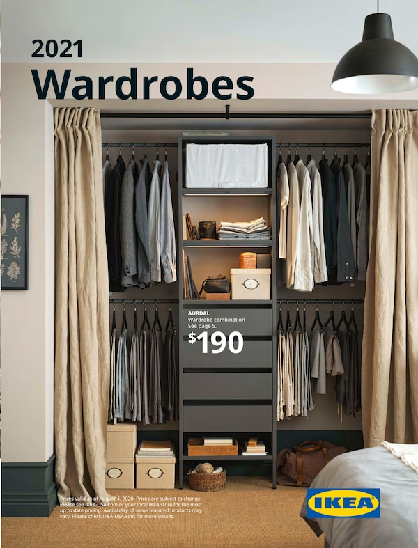 Link to the 2021 IKEA Wardrobes Brochure