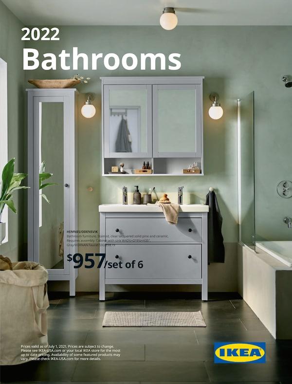 Link to the 2022 IKEA Bathrooms Brochure