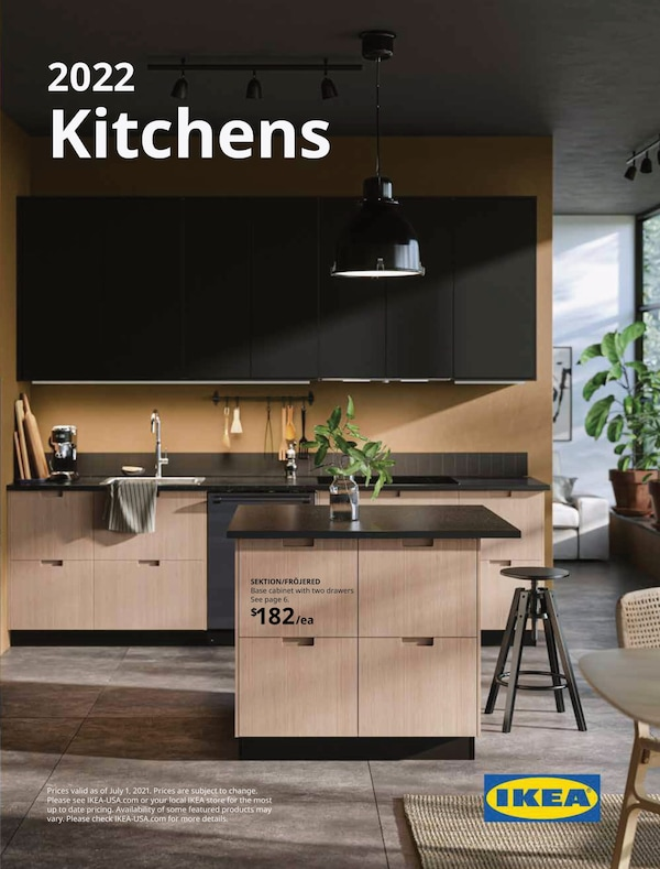 Link to the 2022 IKEA Kitchens Brochure