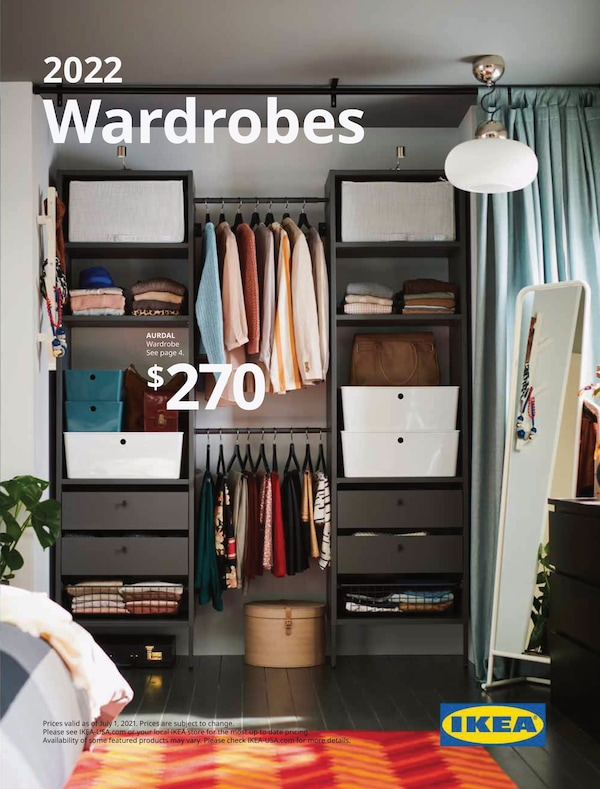 Link to the 2022 IKEA Wardrobes Brochure