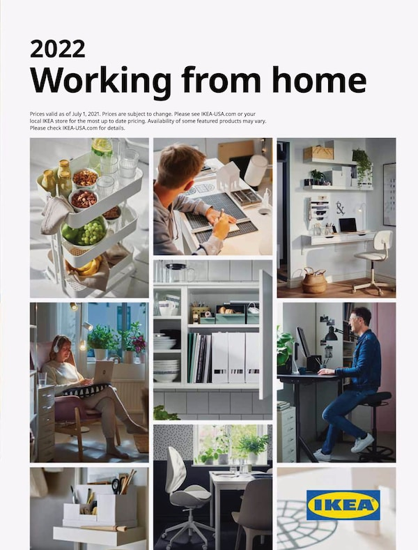 Link to the 2022 IKEA Working from home Brochure
