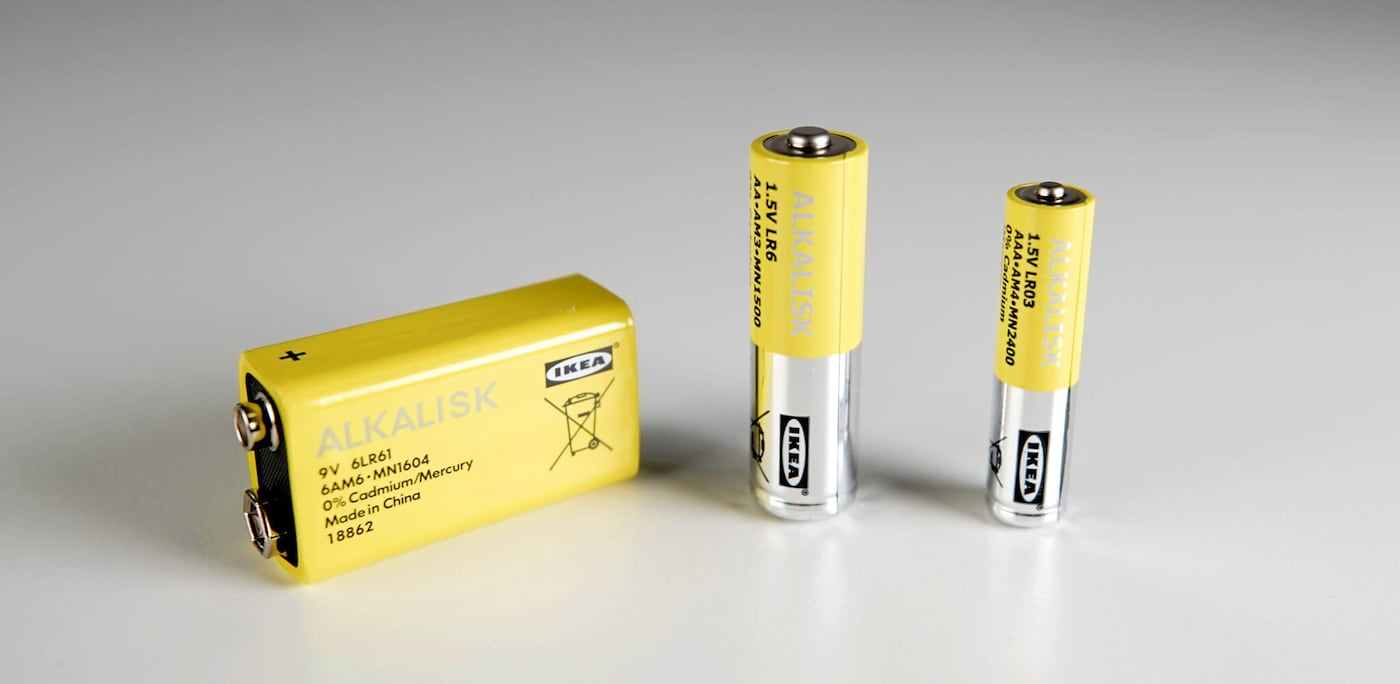 "Linking to Newsroom article ""IKEA to remove non-rechargeable batteries by 2021"""