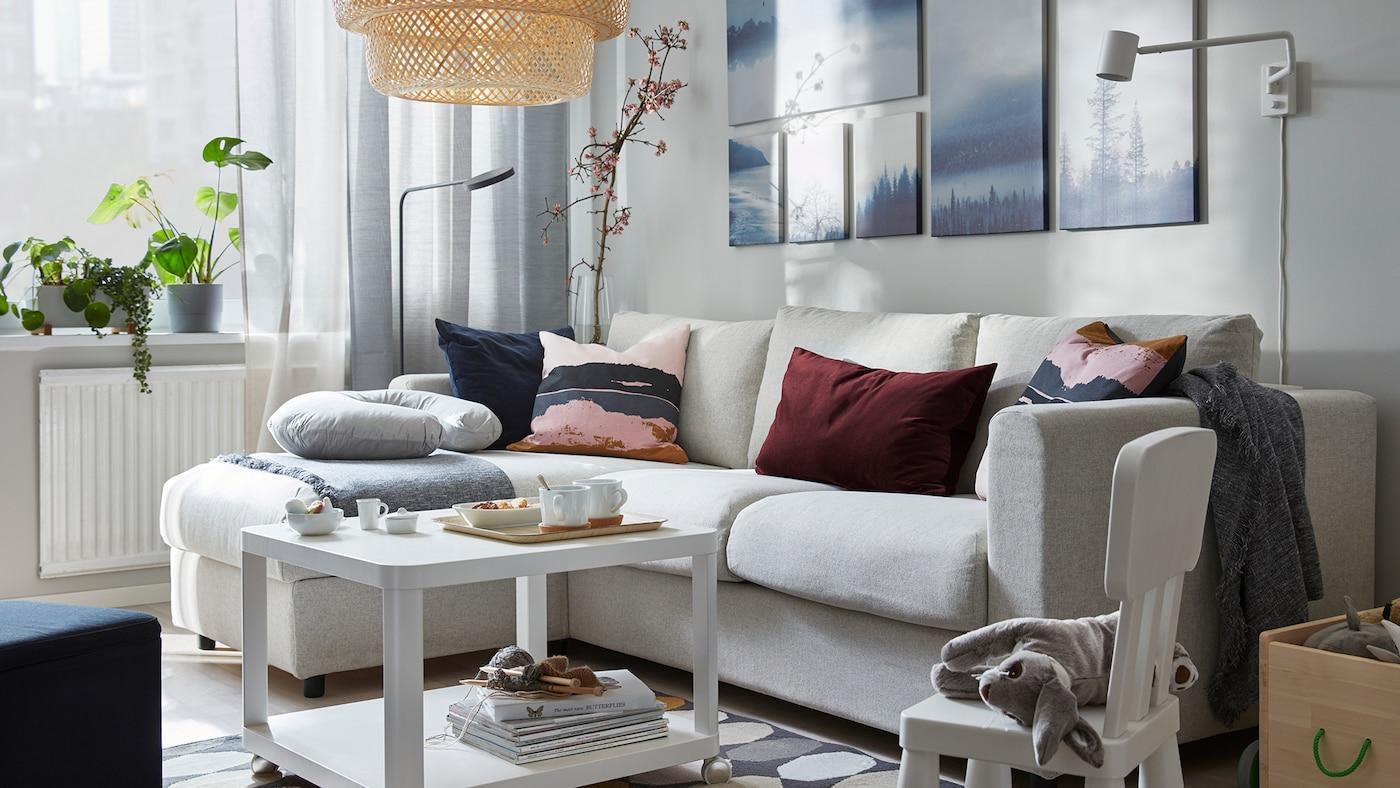 Living Room Design & Furniture Ideas | TV Console - IKEA