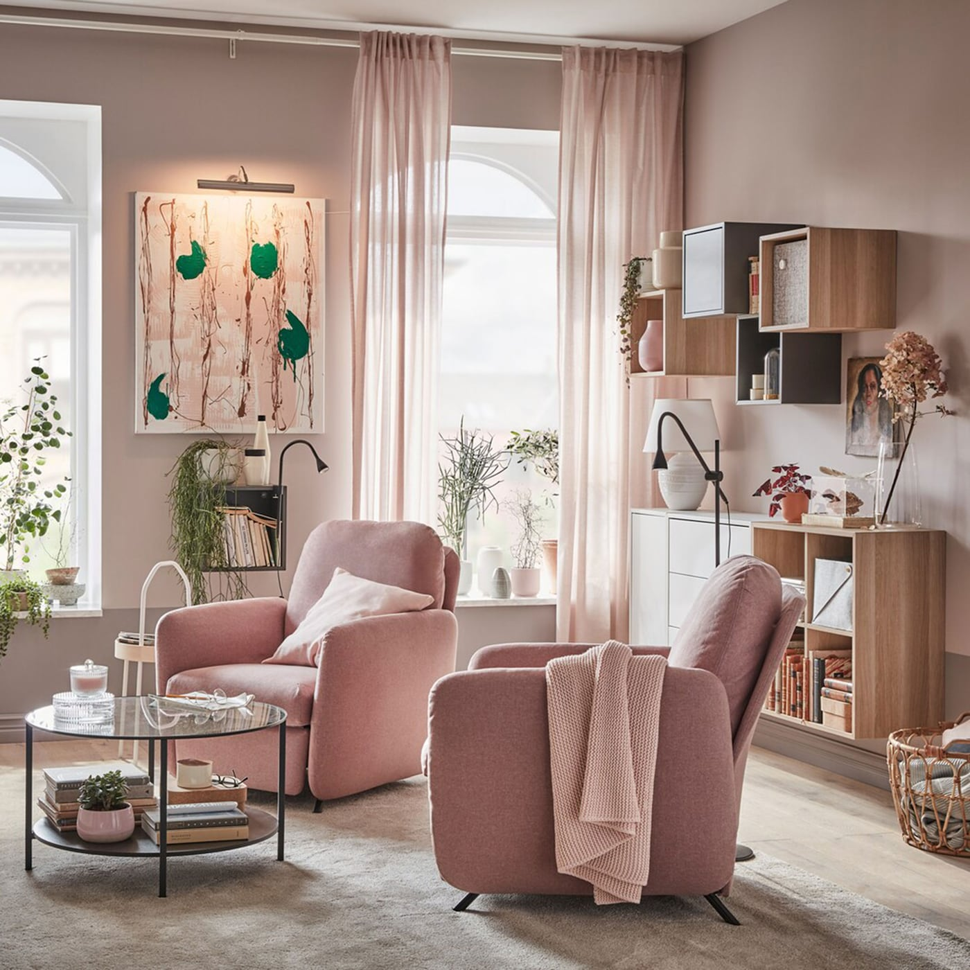 A Small And Elegant Living Room For Two Ikea