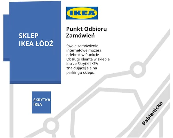 ŁÓDŹ - sklep IKEA
