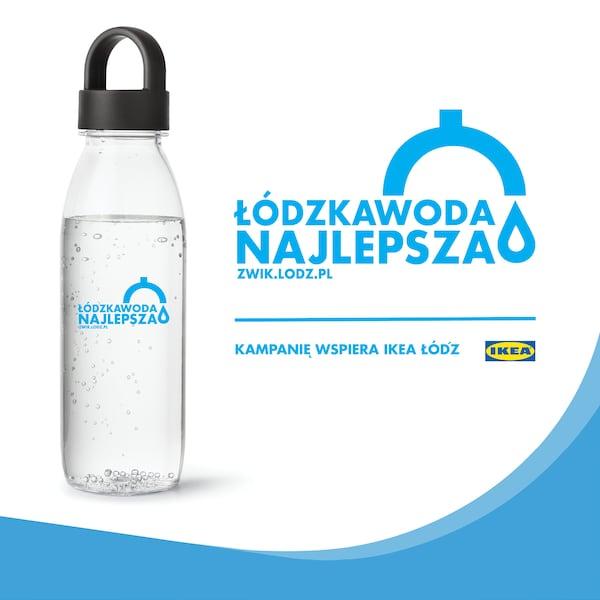 Łódzka Woda Najlepsza- inicjatywa IKEA Łódź oraz ZWiK