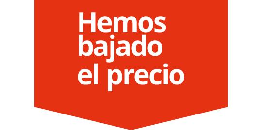 Logo de hemos bajado el precio