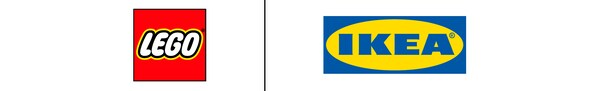 Logos LEGO et IKEA
