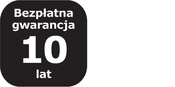 Logotyp 10lat bezpłatnej Gwarnacji