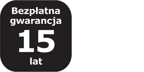 Logotyp 15lat bezpłatnej Gwarnacji