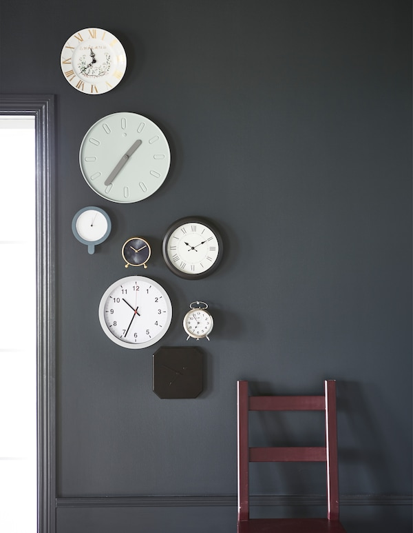 Looking for modern furniture for your home? IKEA has a new range of clocks that let you keep the time and stay undisturbed. For example SLIPSTEN wall clock has no disturbing ticking sounds since the clock has a silent quartz movement.