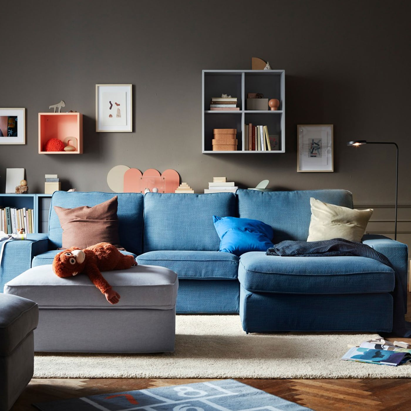 A living room for big and small - IKEA