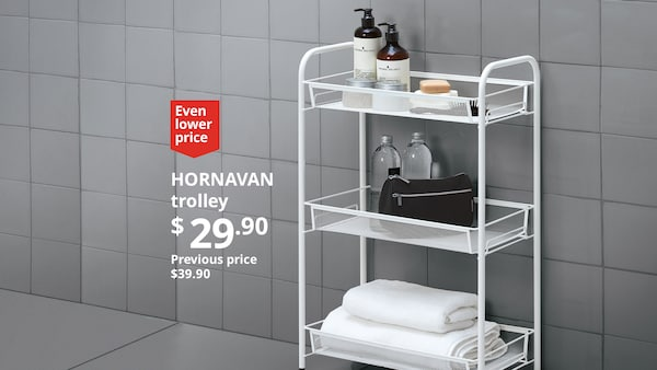 Lower prices. Same great quality. Even lower prices at IKEA.