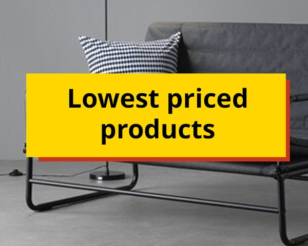 Lowest prices products