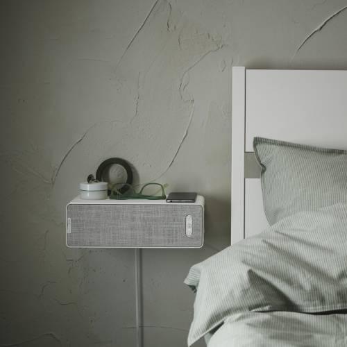 łóżki z głośnikiem w kształcie półki