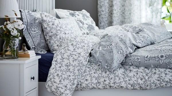 Łóżko z pościelą KOPPARANKA