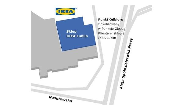 Lublin - Punkt Odbioru Zamówień w sklepie IKEA