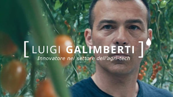 Luigi Galimberti, innovatore nel settore dell'agri-tech