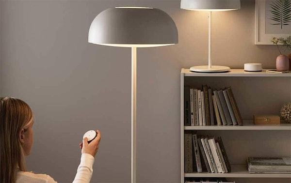 Luminaires et éclairage connecté chez IKEA