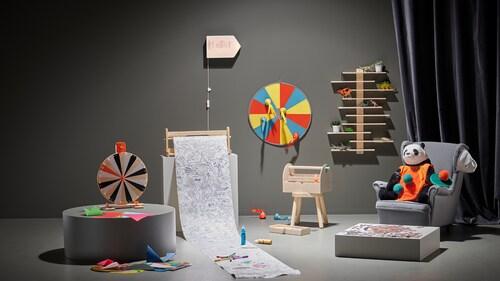 Colecția de jocuri și jucării LUSTIGT