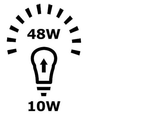 luz 600 lm