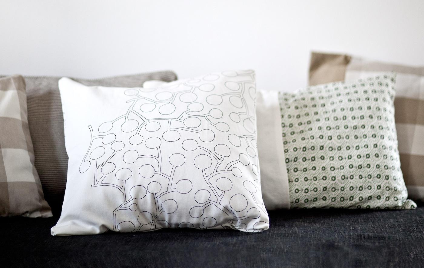 Kissenbezüge selber nähen IKEA