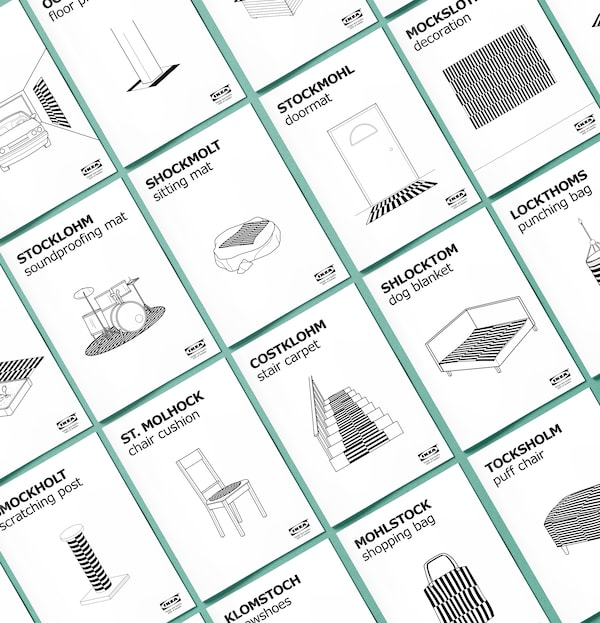 Made of STOCKHOLM is a collection of 18 new IKEA products that you can make yourself.