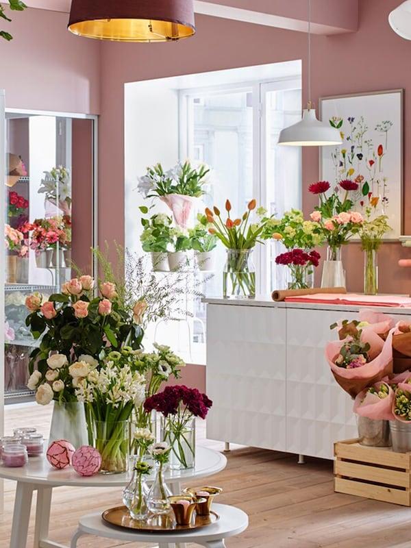 magasin des fleurs