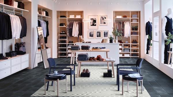 Магазин с мебелью ИКЕА