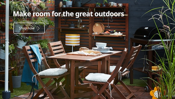 Make room for the great outdoors with IKEA Home furnishings!