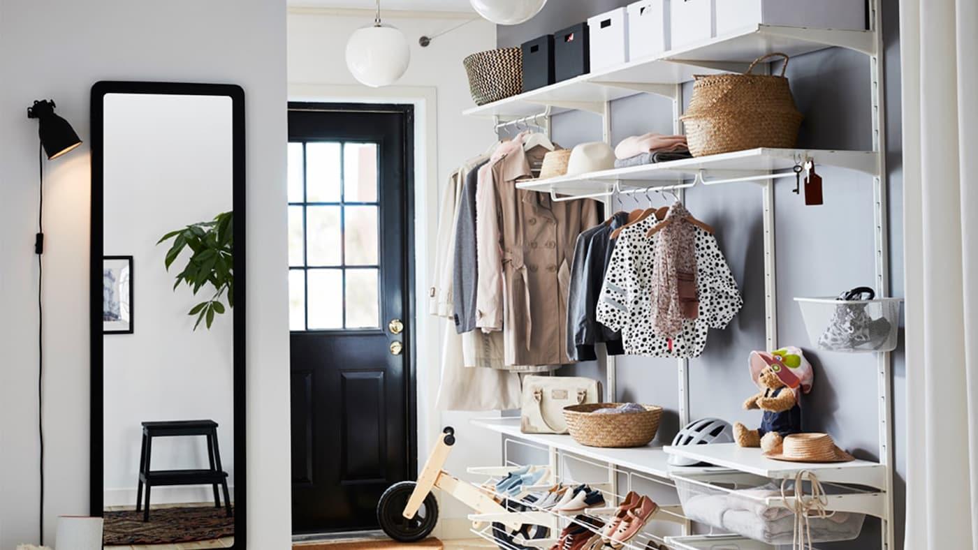 entr es ikea. Black Bedroom Furniture Sets. Home Design Ideas
