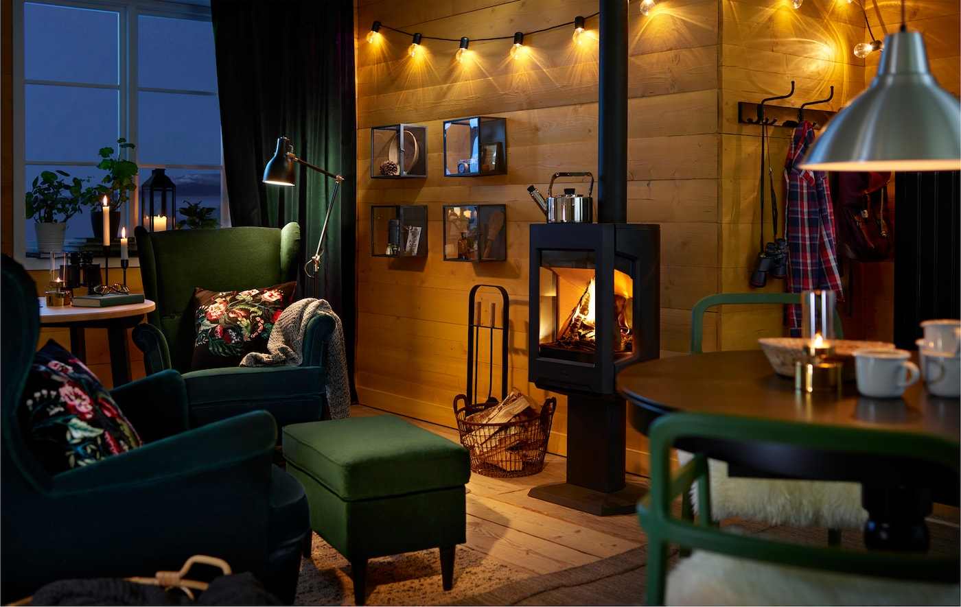 Make winter the cosiest of all seasons with intimate lighting and warm blankets to curl up under. Here are some ideas.