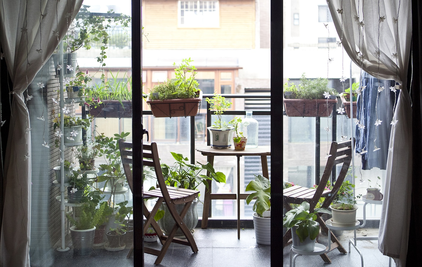 Make your balcony an extension of your living area.