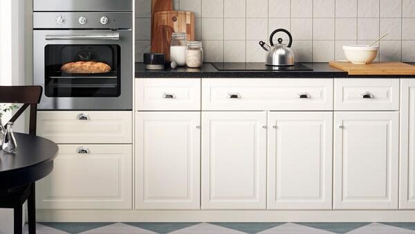 Ogromny Seria BODBYN kremowy - IKEA RS47