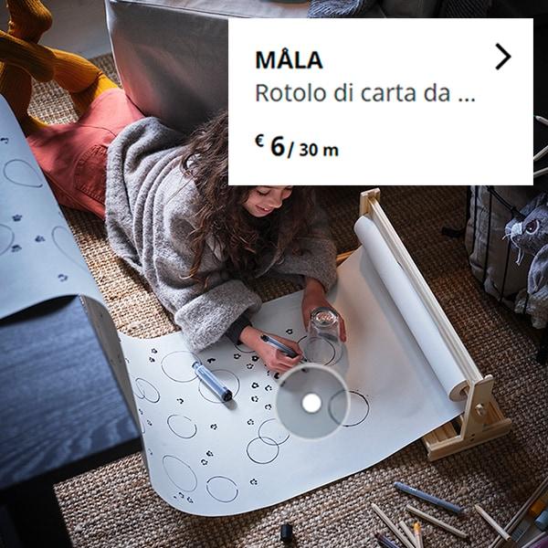 MÅLA Rotolo di carta da disegn - IKEA