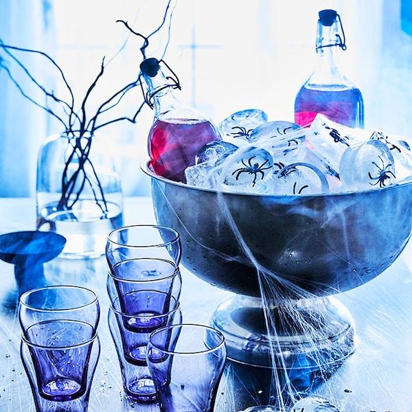 Mangez, buvez et inspirez la frayeur ! Profitez au maximum de la saison des peurs à la maison.