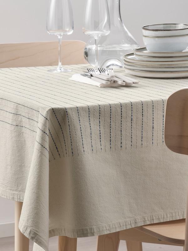 manteles sencillos para decorar la mesa