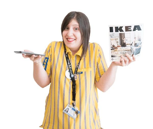 Marina Miguel del equipo de rrss IKEA