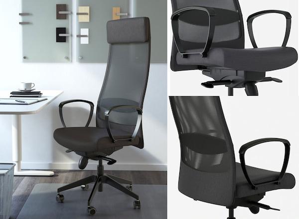 markus office chair ikea ergonomic comfort working from home