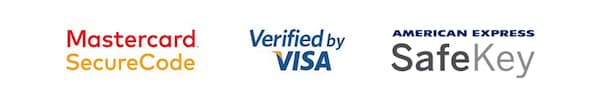 Mastercard Secure Code & Verified by Visa & American Express SafeKey
