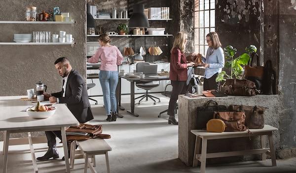 Мебель для офисного пространства ИКЕА для бизнеса