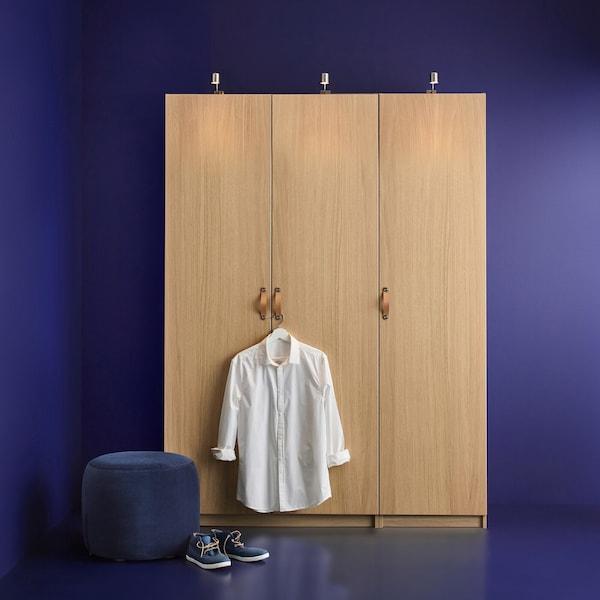 Med tegneprogrammet kan du designe dit eget PAX garderobeskab.