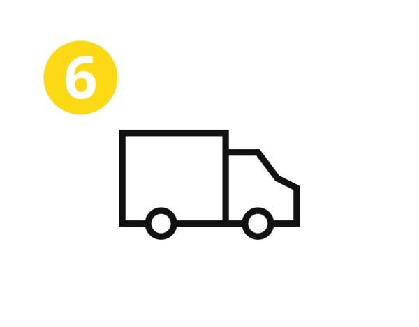 Még aznap összeszedheted az összes szükséges terméket, vagy megrendelheted a szállítást.