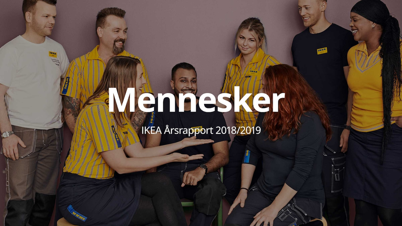Mennesker   Årsrapport IKEA Danmark 2018/2019