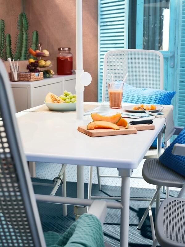 mesas de exterior para terrazas