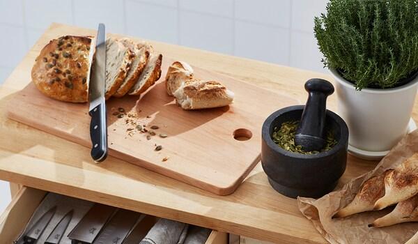 Messer-Ratgeber: Brotschneidemesser