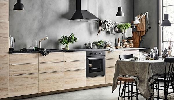 Ikea Accessori Interni Per Mobili Cucina.Soluzione Per La Cucina Metod Askersund Ikea It